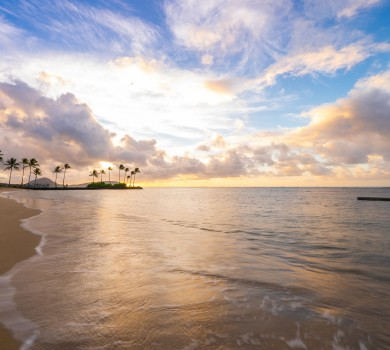 Oahu Beach Sunrise